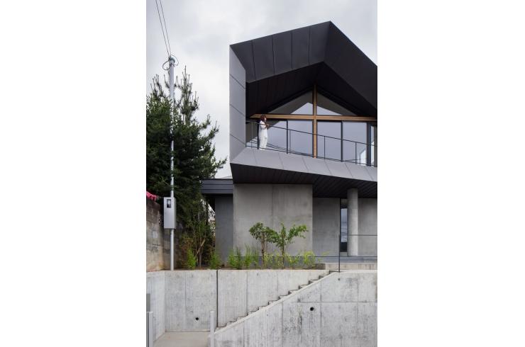 高槻安岡寺の住宅